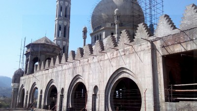 Mosquée Gulhar Shareef Kotli Cachemir (7)