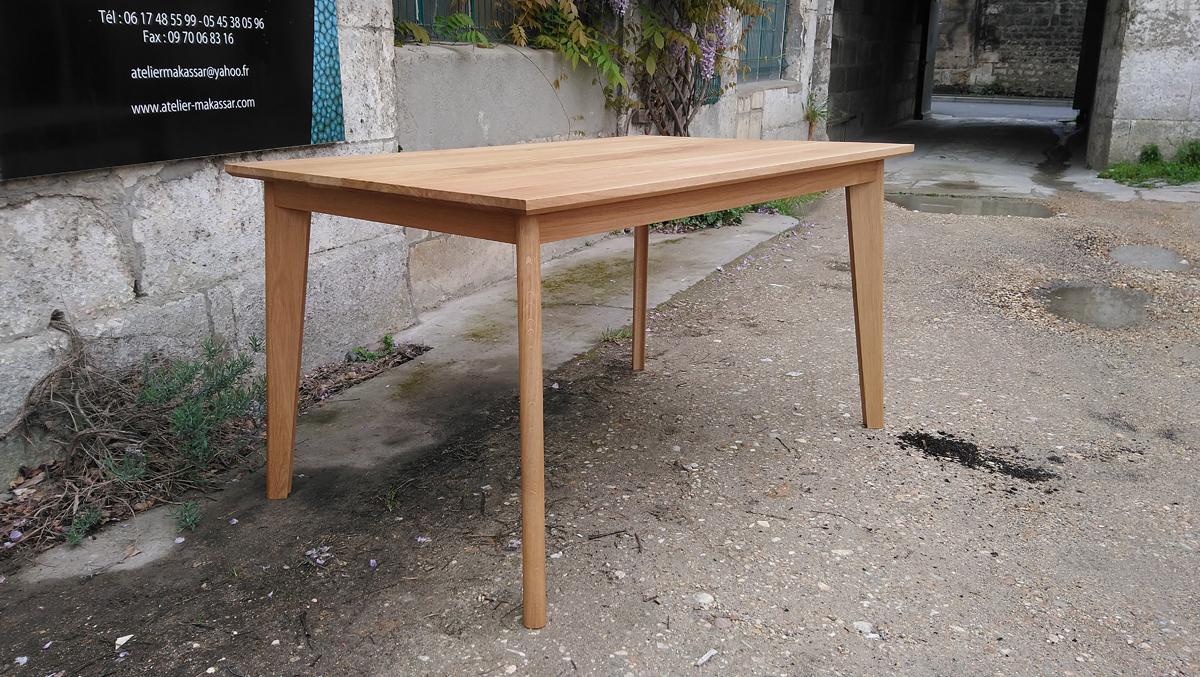 petite table a manger extensible atelier makassar