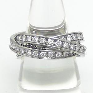 ダイヤモンド3連リング