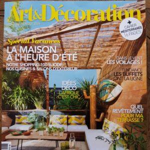 Art et Décoration juillet/aout 2019