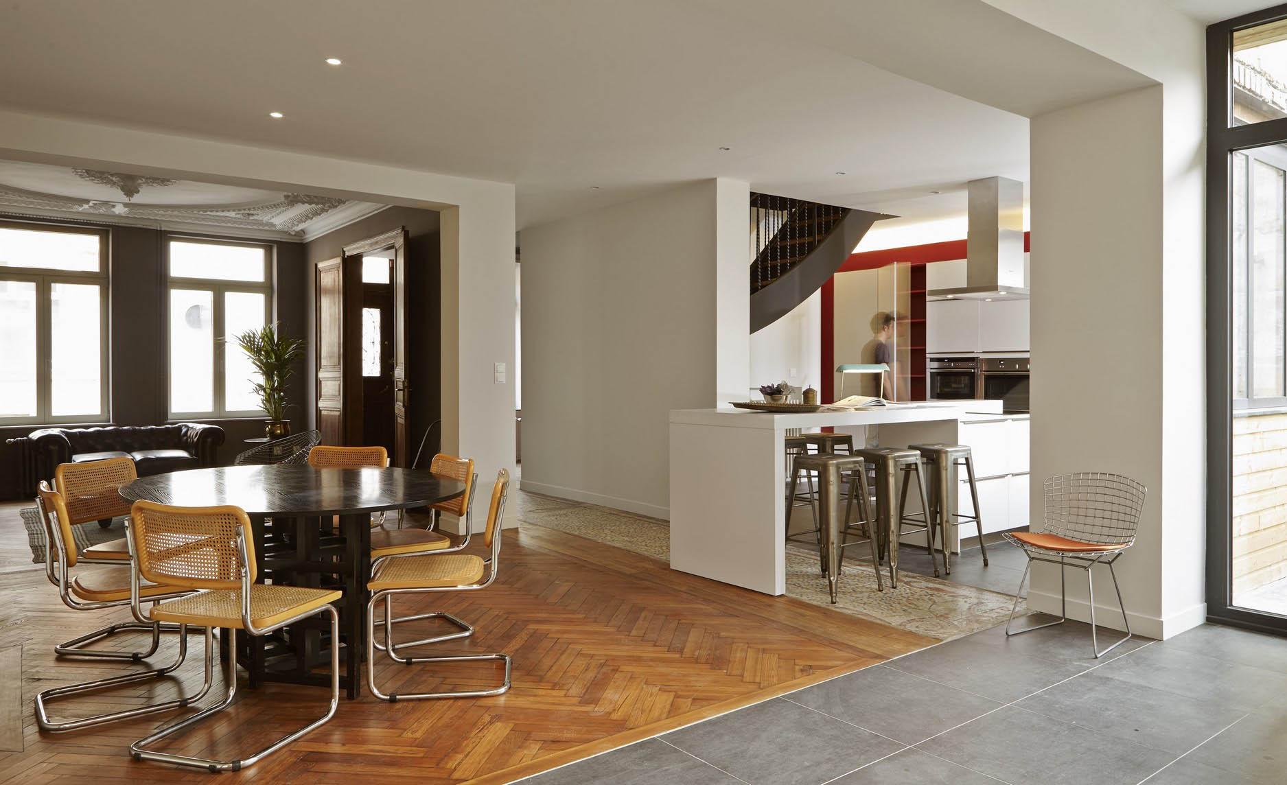 Deco Maison Bourgeoise. Idees De Couleurs Peinture Cuisine Moderne ...