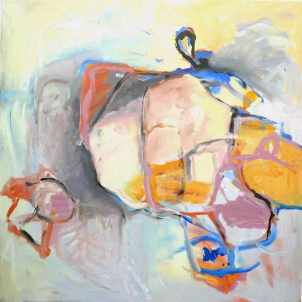 Losgelöst, Acryl auf Leinwand, 80x80