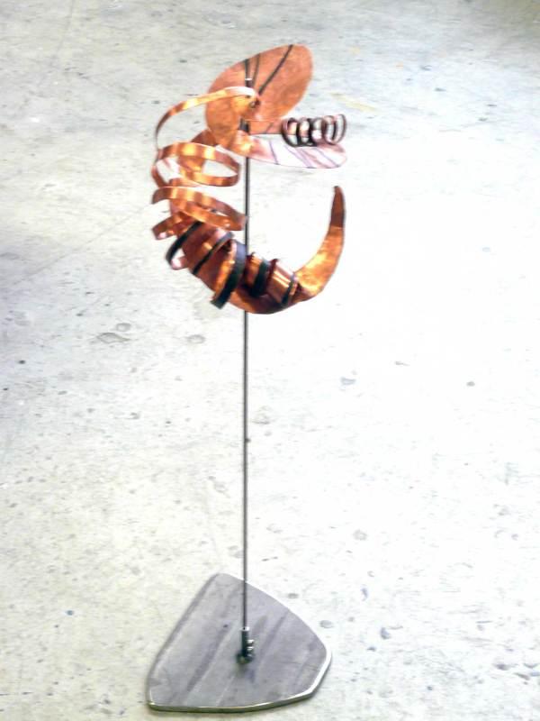 Kostbarkeit, Kupfer, Höhe 70cm