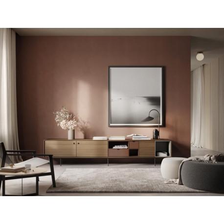 enfilade meuble tv buffet aura 260 cm treku