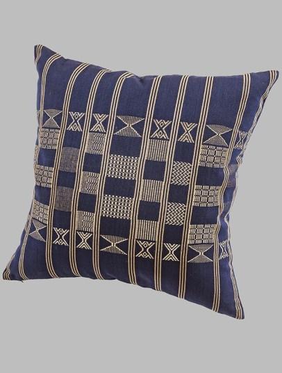 Minna Indigo Blue Nzuri Textiles Nigerian Weaving