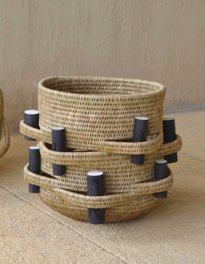 Woven Baskets Swaziland Gone Rural