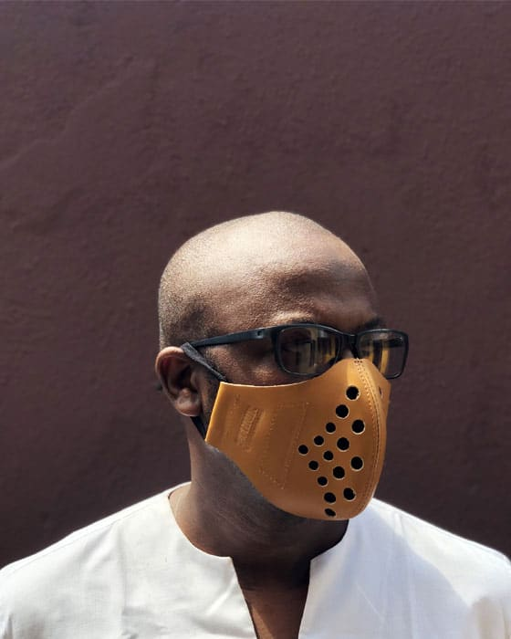 Ethnik by t o leather mask tan