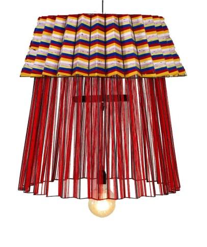 Mash T Design Studio Beaded Tutu Pendant light designed by South African designer Thabisa Mjo