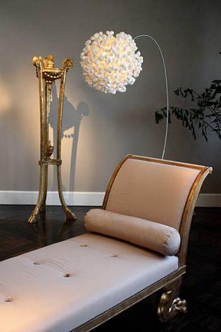 XXLbooglamp voor een modern interieur