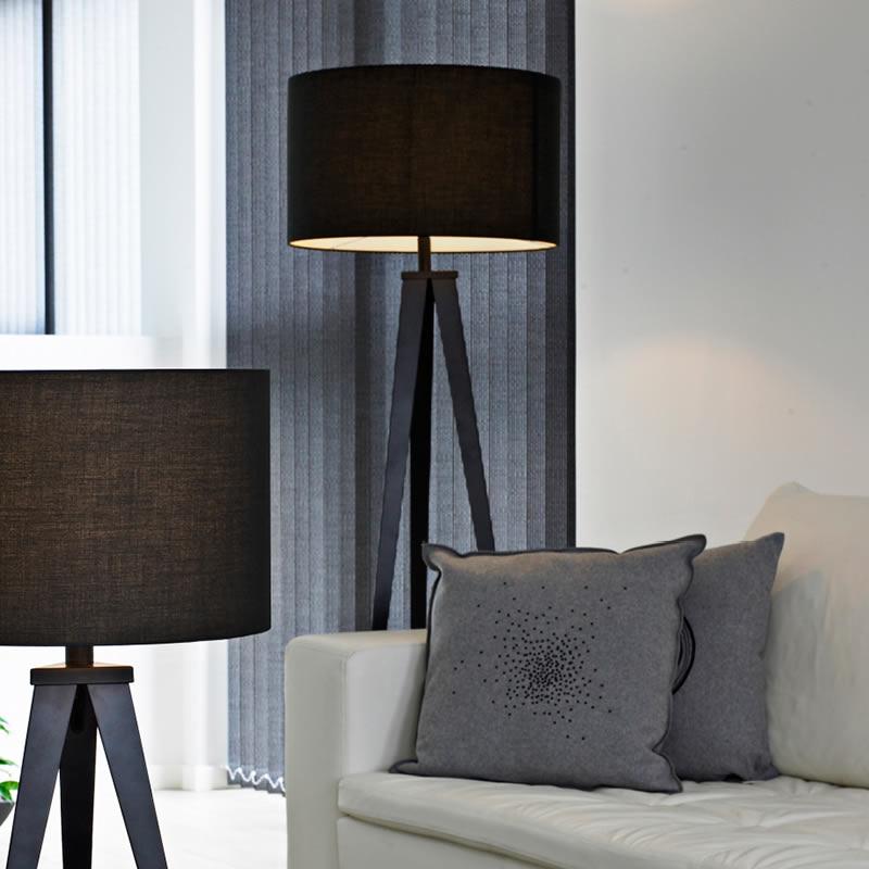 Tijdloze Deense staande driepoot lampen