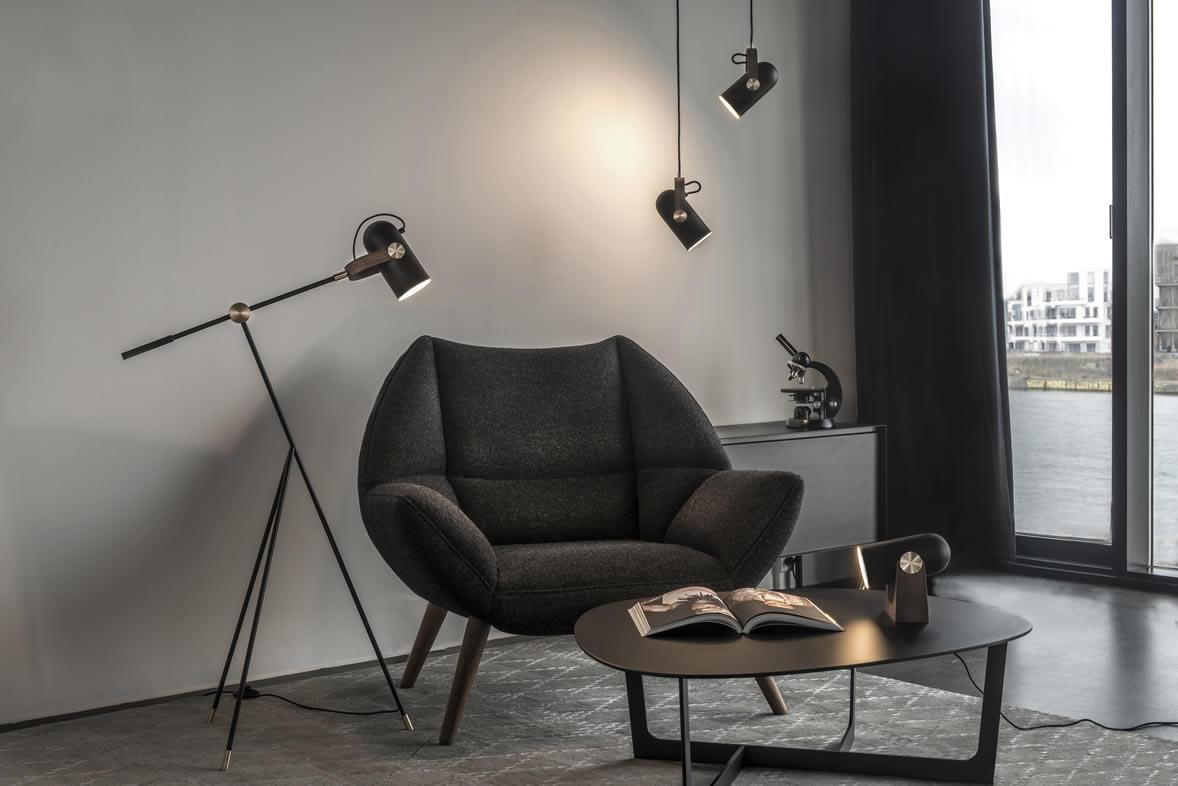 Moderne hanglampen spots voor keuken en eettafel