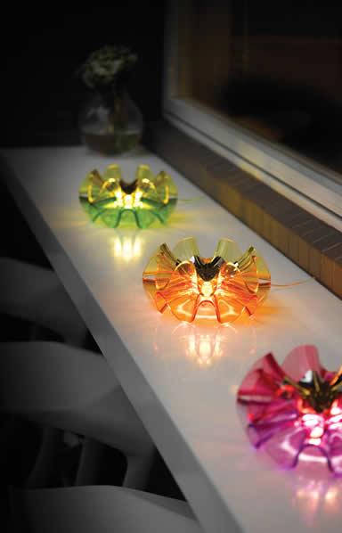 Dimbare LED tafellamp en schemerlamp Flamenca