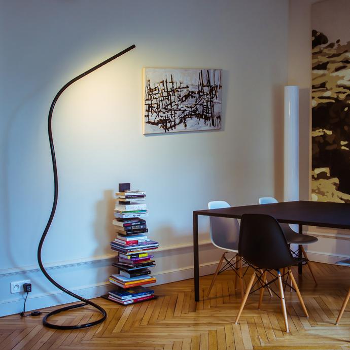 LED leeslamp en staande lamp