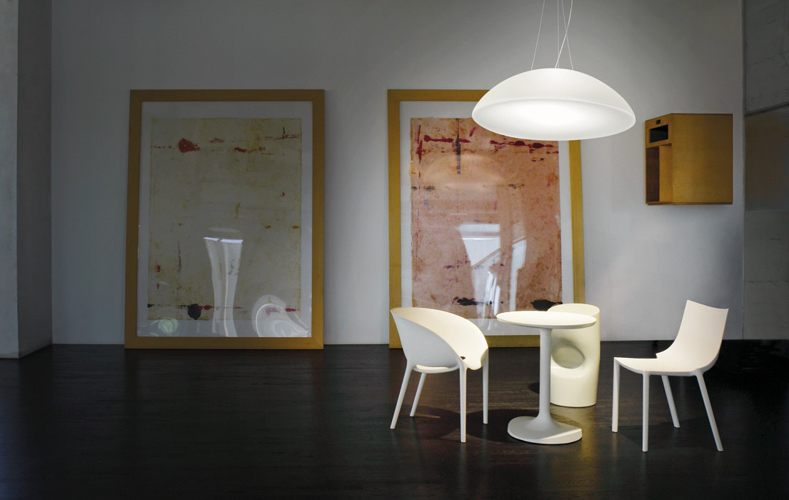 Hanglamp  Grote glazen verlichting