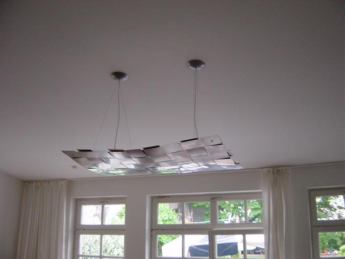 Hanglamp en plafondlamp rvs  design plafondverlichting