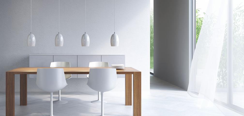 Stoere glazen hanglampen in diverse kleuren