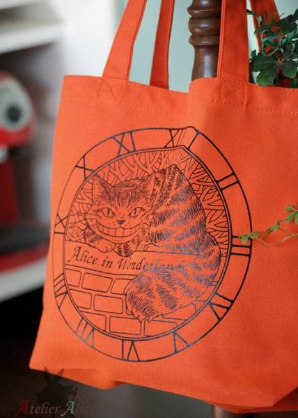 チェシャ猫トートバッグ