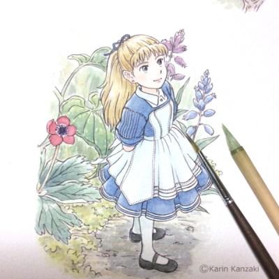 アリスのイラスト