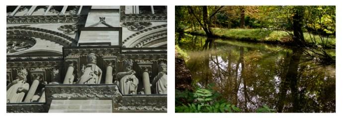 Notre Dame and Bois de Vincennes