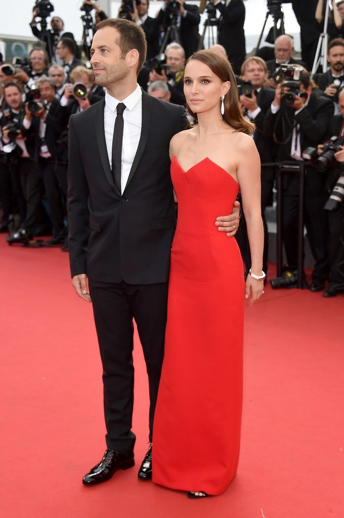 Benjamin Millepied and Natalie Portman, in Dior