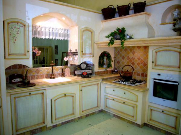 Fabricant cuisines provenale sur mesure Arles BDR Avignon 84 Nmes 30 Aix en Provence 13