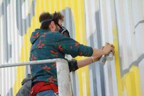 Jonas Desinte, Graffeur