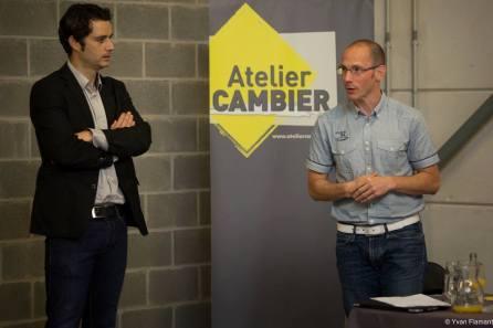 Réunion BNI dans les locaux de Atelier Cambier