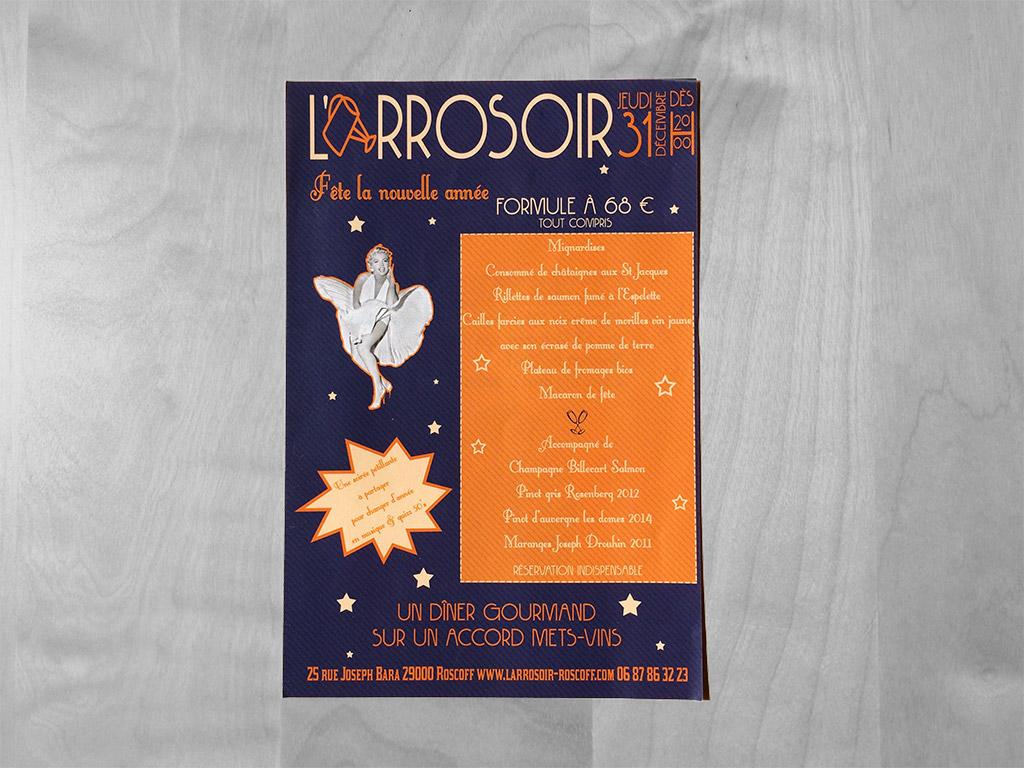 Flyer evenement