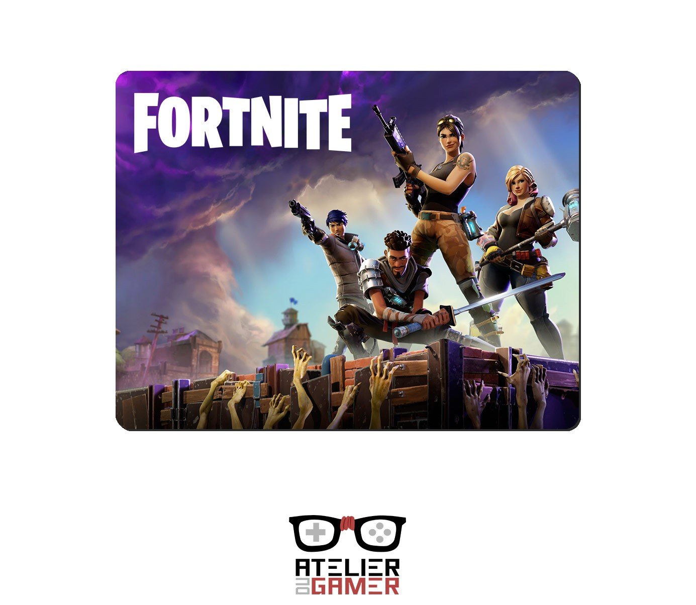 tapis fortnite little1 tapis de souris 100 gamer 100 francais