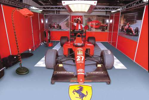 Déco garage Articulé frein à air