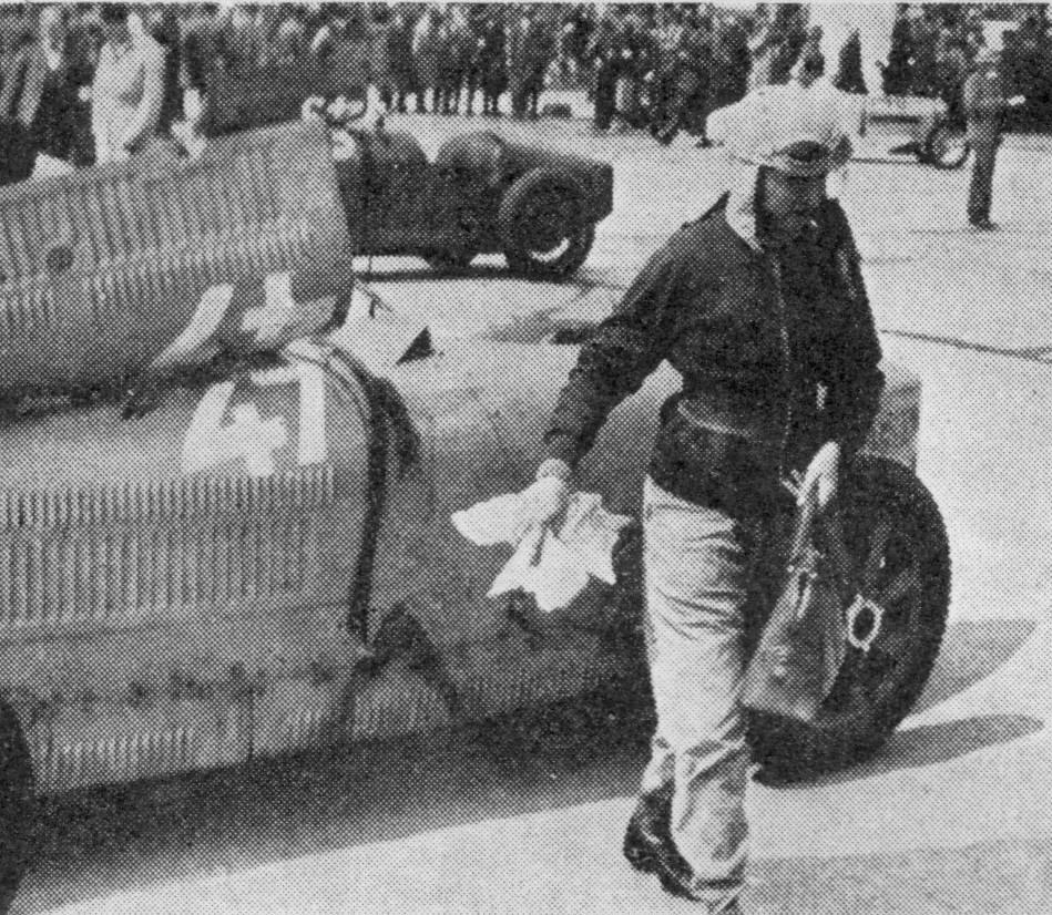 1934 elle termine 8 ème,n ° 47 au 8ème ADAC Eifelrennen Voiturette, le 3 juin 1934