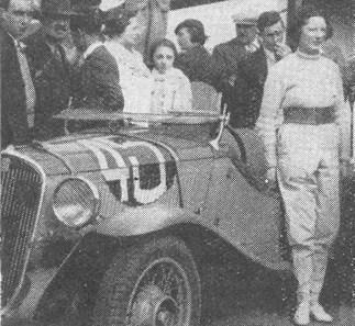 1935 24 Heures du Mans Fiat 508 Ballila Sport 18 ème