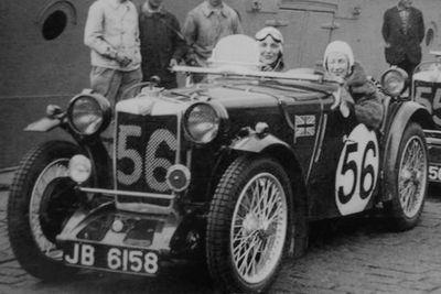 1935 24 h du Mans Joan Richmond-Eva Gordon Simpson 24 ème voiture MG Midget PA Moteur MGL4 846cc