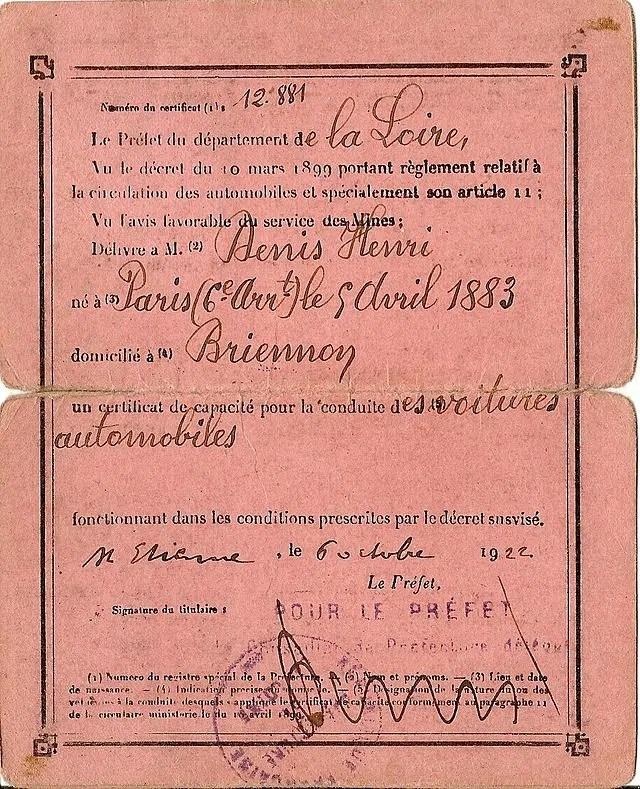 Certificat de capacité 14.08.1893