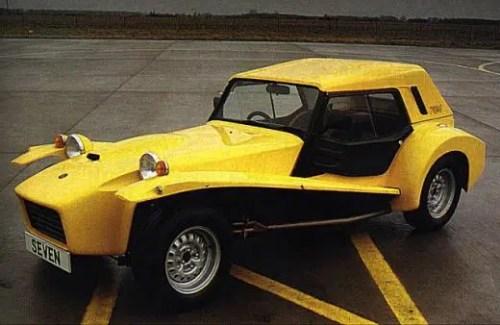 Lotus Seven S4 Hardtop