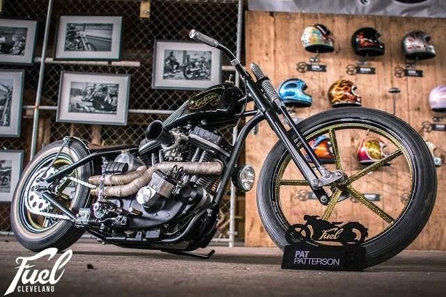 Moto Pat Patterson fuel
