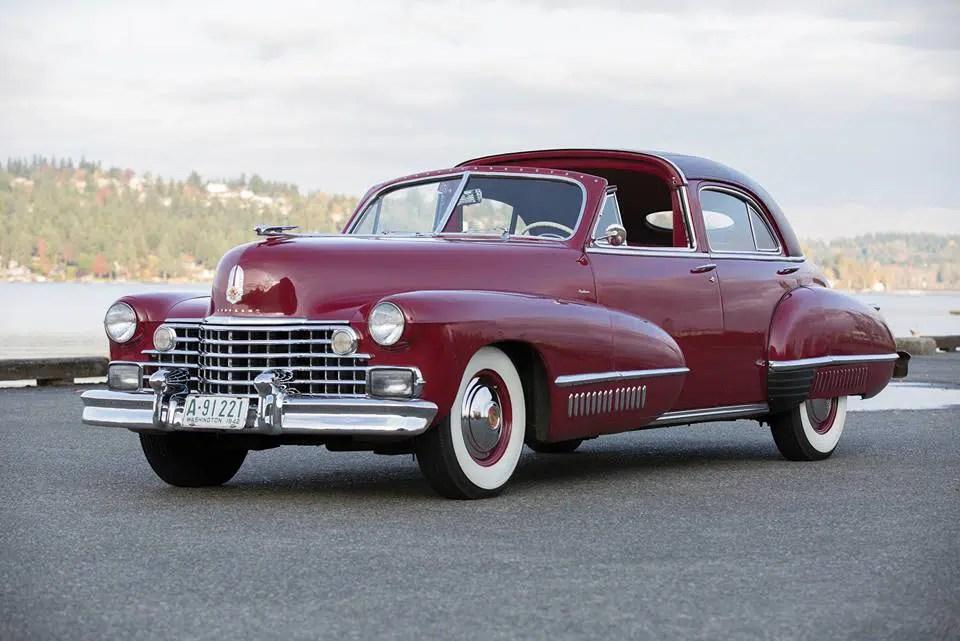 Cadillac 1942. Ville spéciale brougham