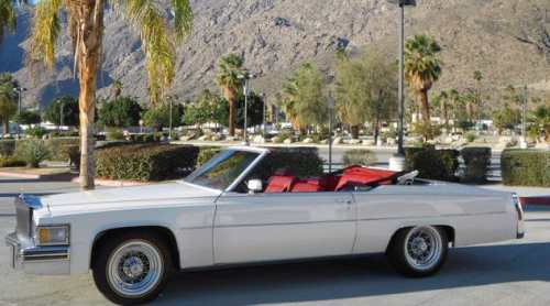 Cadillac Deville Convertible 1978