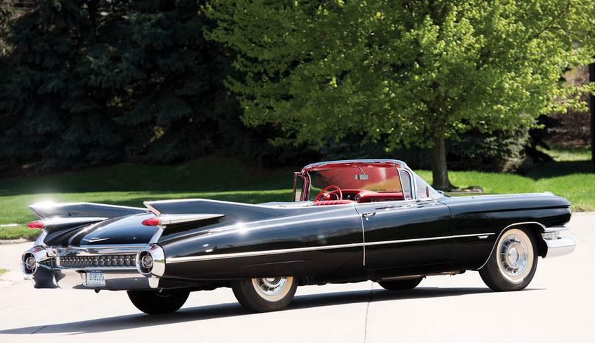 Cadillac La série 62 devenue en 1959 Series 6200