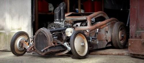 Rat Rod dernière tendance custom bourse autos motos Chateauroux