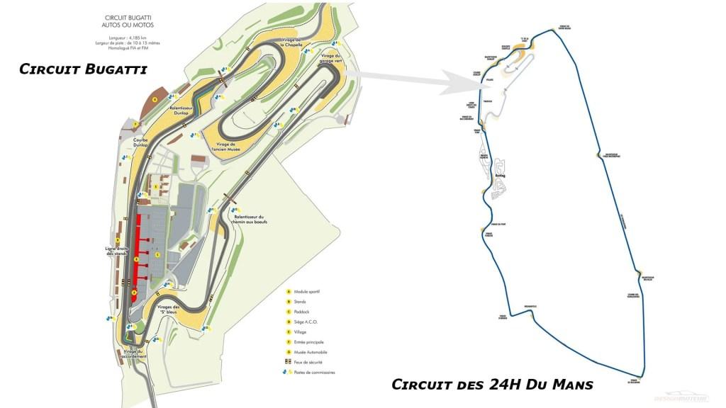 Piloter sa voiture sur circuit Le Mans Circuit-Bugatti des 24h du Mans