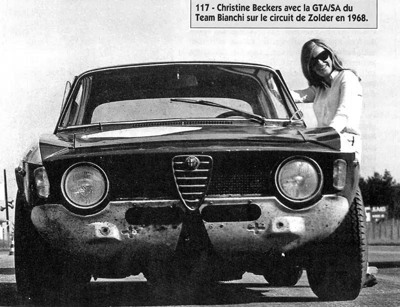 1968 Zolder Christine Beckers