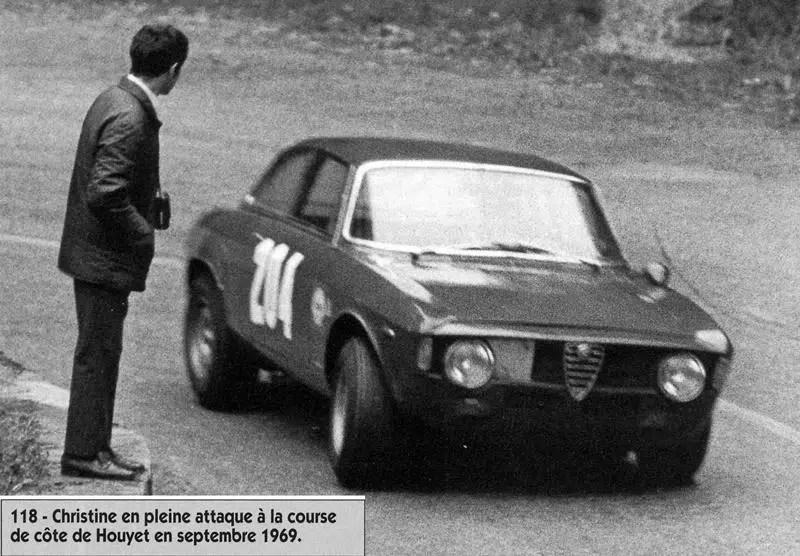 1969 CC Houyet n°204 Christine Beckers