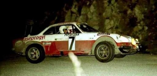 1971 Christine Dacremont Alpine Berlinette1600 S GR3devient Championne de France en national.