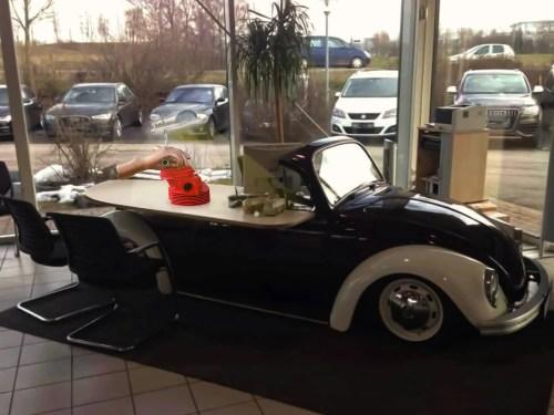 L'Art et l'Automobile Culasse Coccinelle VW