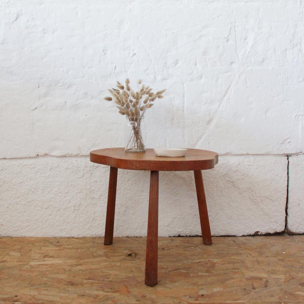 table basse vintage wabi sabi atelier