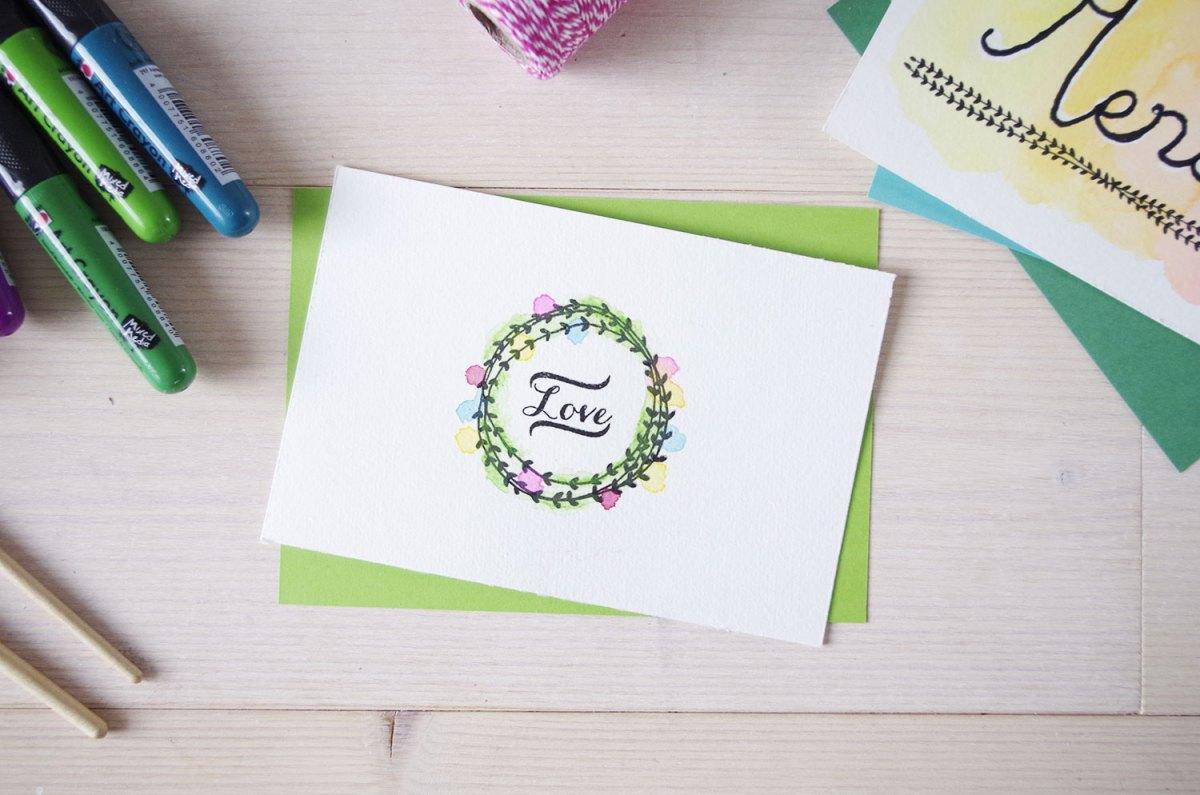 DIY mes cartes d'aquarelle (4)