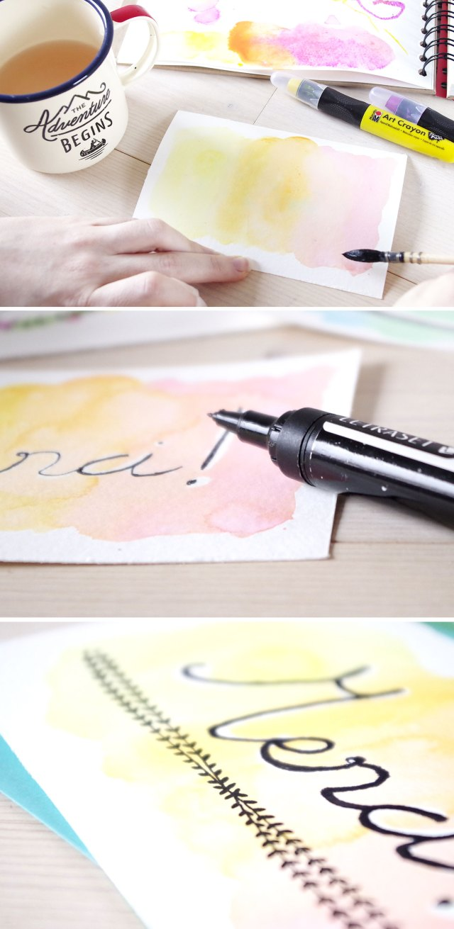 DIY mes cartes d'aquarelle (7)