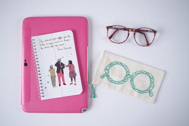 {DIY} Mon étui à lunette brodé (6)