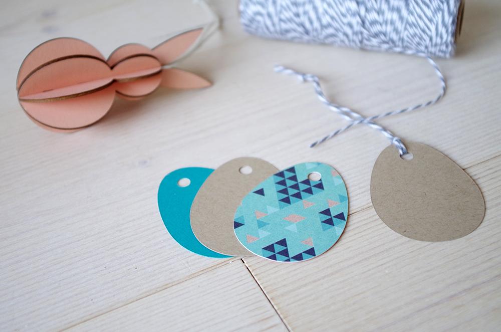 Kit Emballage Pâques géométrique Atelier Fête Unique11